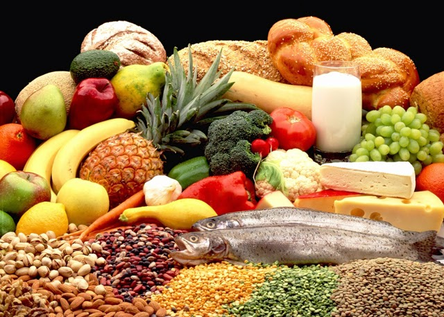 Nutritious food that contain vitamins, minerals, protein, carbohydrate, fat