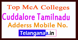 Top MCA Colleges in Cuddalore Tamilnadu