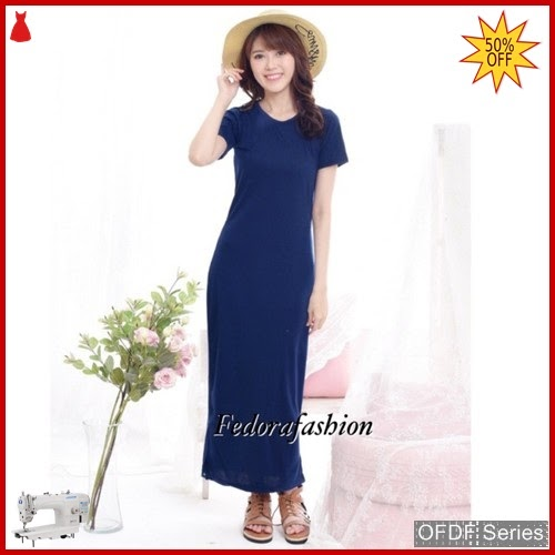 OFDF005 Dress Casual Dress Promo elsa Plain BMGShop