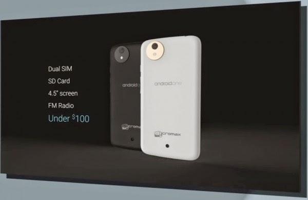 gambar spesifikasi android one milik google