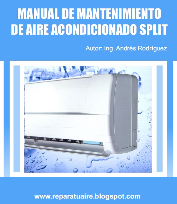 Splits De Aire Acondicionado En Tu Salón: MANUAL DE MANTENIMIENTO DE AIRE ACONDICIONADO SPLIT