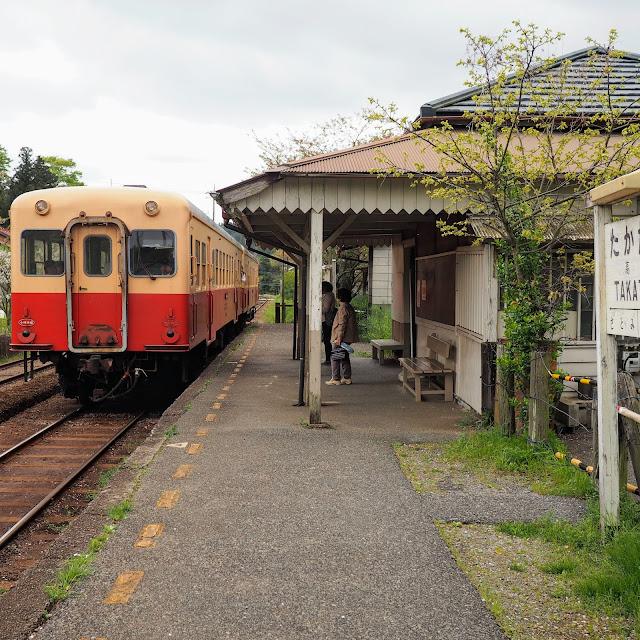 小湊鐵道 高滝駅