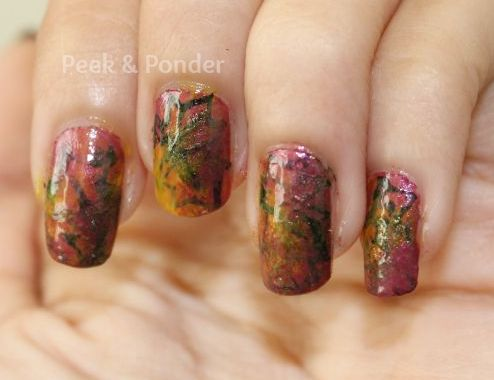 Fall Inspired Nails: Changing Leaves | BlogHer
