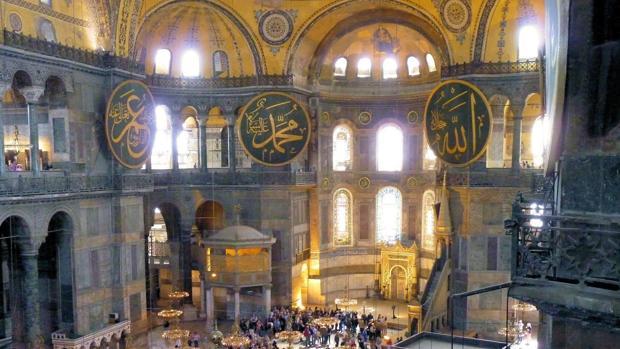 Turquía rompe la tradición y convierte Santa Sofía en mezquita durante el ramadán