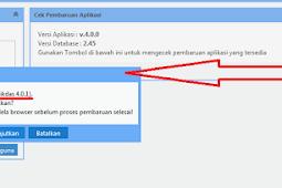 Cara Update  Dapodik 4.00 menjadi Versi 4.0.1