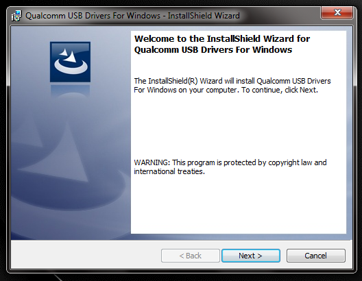 DOWNLOAD QUALCOMM USB DRIVER ALL VERSION