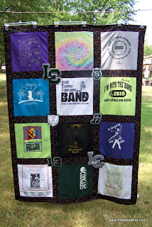 New T Shirt Memory Quilts