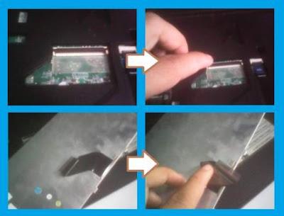 Cara mengganti keyboard leptop acer aspire dengan mudah