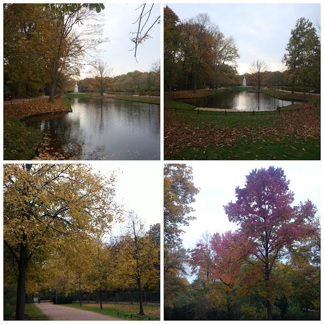 Tiergarten no outono - Berlim