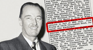 Fred Trump: The father of Donald Trump was apparently a raging white supremacist back in the day.