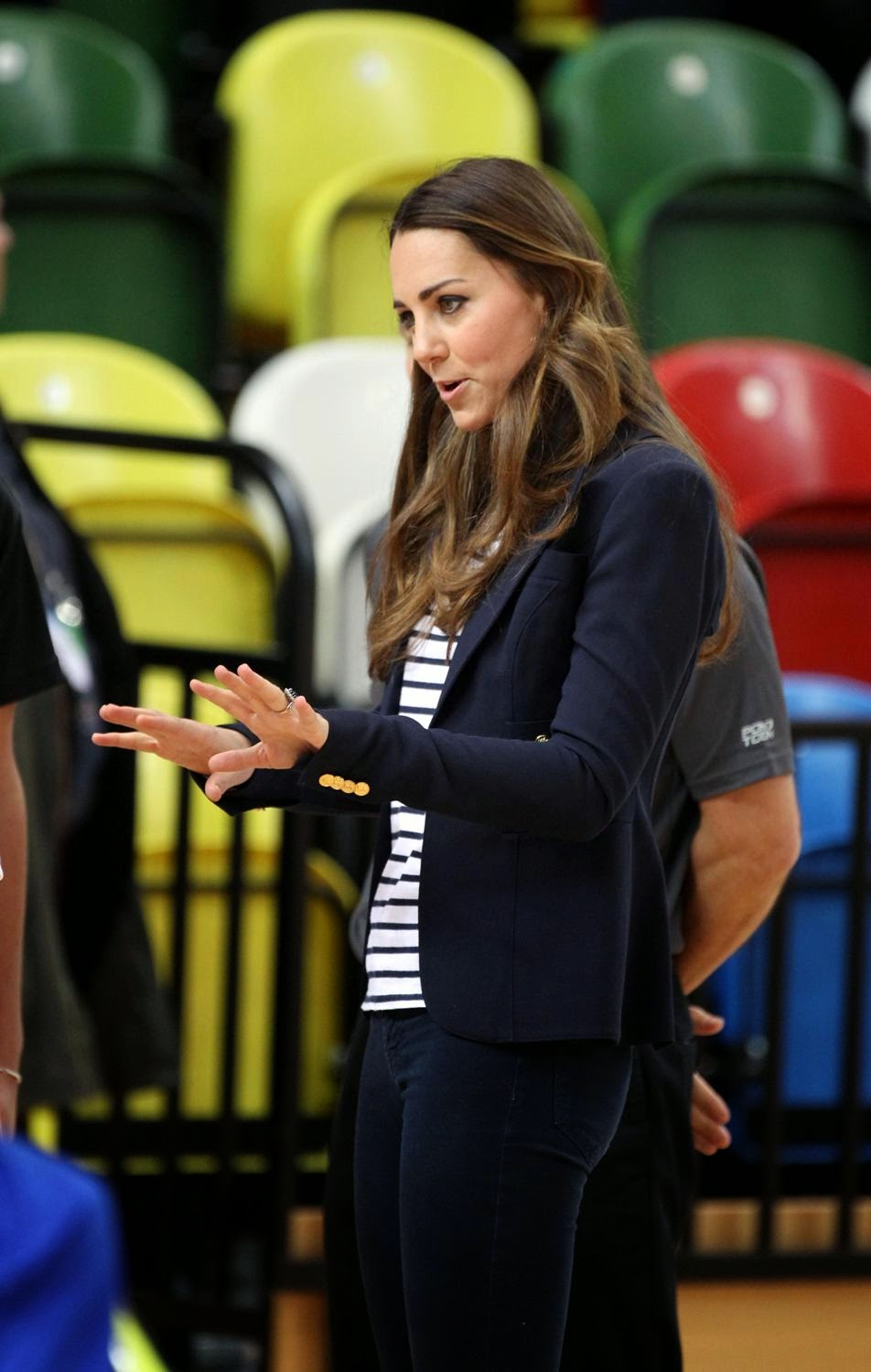 Kate Middleton Showing Bra While She Is Playing Volleyball -3840