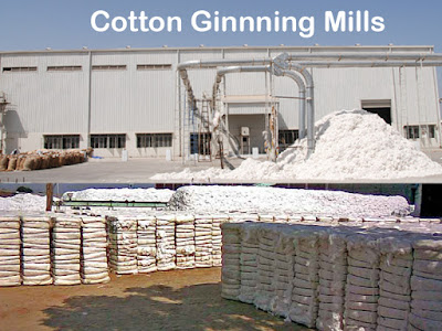 Cotton Ginning Mills in India