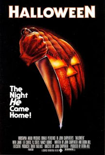 Cartel de la película Halloween de John Carpenter, 1978.