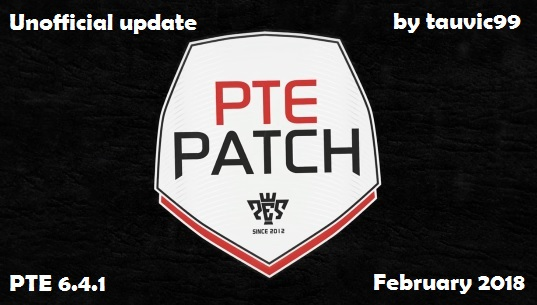 PES 2017 PTE Patch 6.4.1 (Unofficial) by tauvic99
