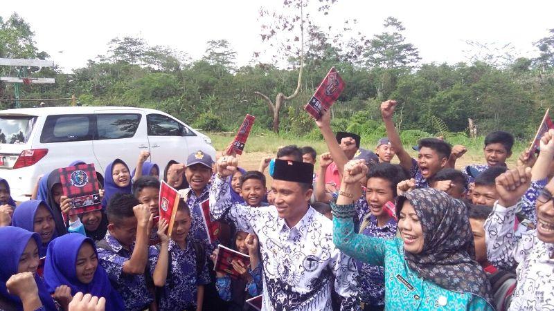 Jadikan Lampung Barat Sebagai Kabupaten Literasi