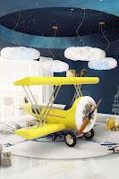 Increíbles camas que les encantarán a los pequeños avion