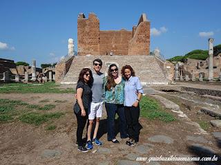 bate e volta ROMA Ostia Antiga guia brasileira - Ostia Antiga