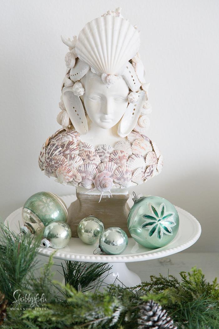 seashell statue