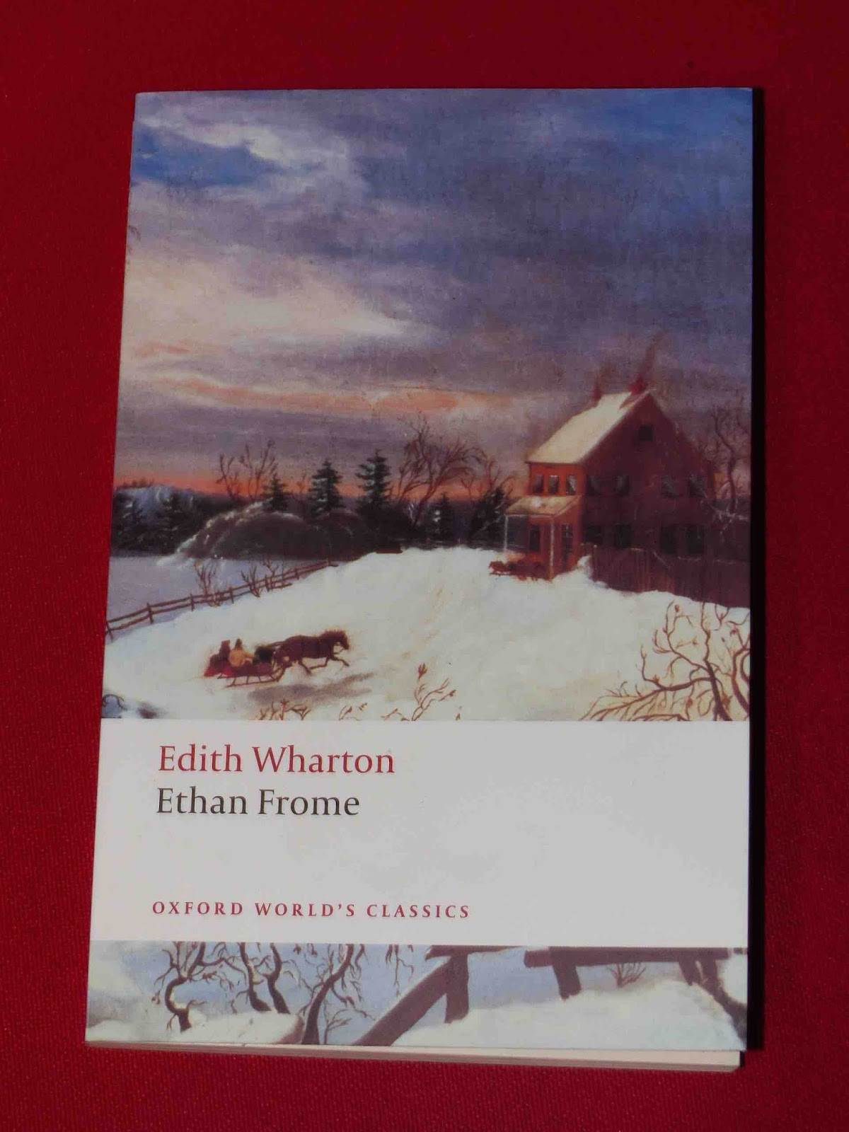 ethan frome trapped in starkfield by edith wharton Readers of edith wharton's ethan frome (1911) can hardly fail to be moved by the suffering of the title character ethan himself zeena fate starkfield.