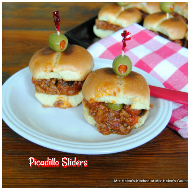 Picadillo Sliders at Miz Helen's Country Cottage