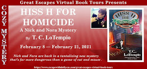 HISS H FOR HOMICIDE BLOG TOUR