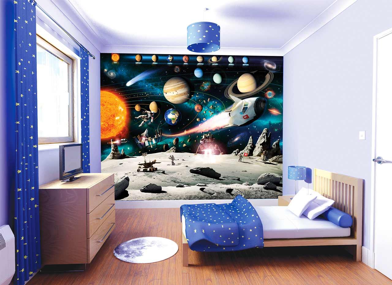40 3D wallpaper design ideas for children room 2019