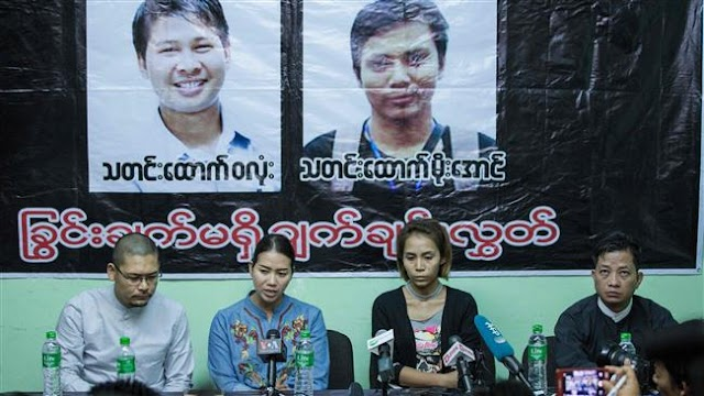 Reuters journalists jailed by Myanmar may have been victims of set-up, families indicate
