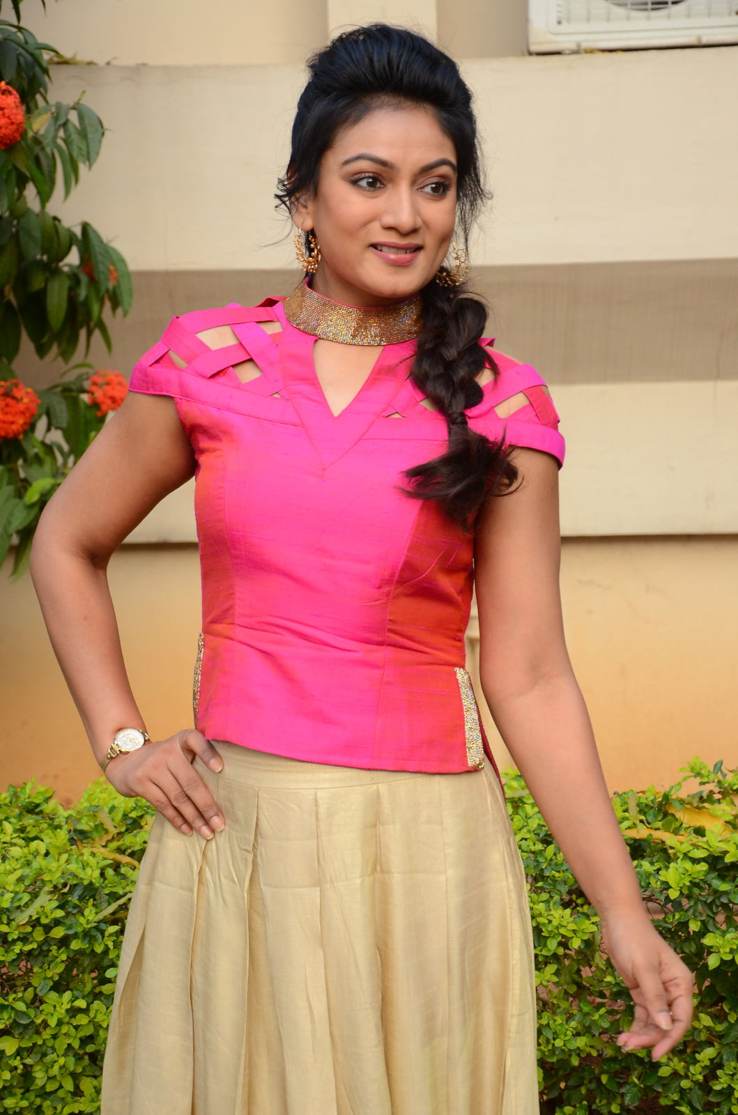 Ashmitha latest glamorous photos-HQ-Photo-9