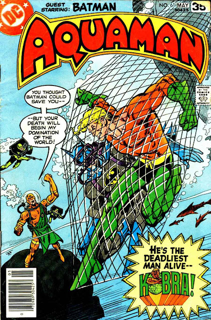 Aquaman v1 #61 dc 1970s bronze age comic book cover art