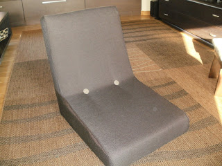 odnowianie fotela z PRL