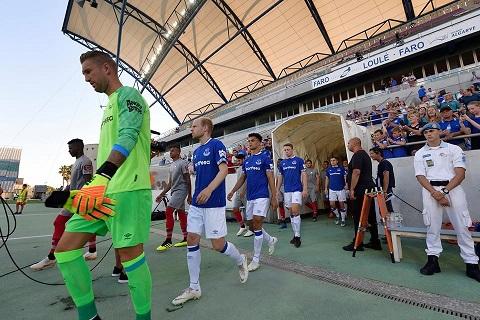 Everton đã chính thức công bố số áo cầu thủ cho mùa giải 2018/19