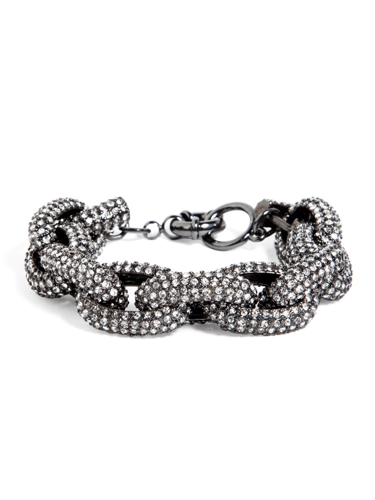 Pave Links Bracelet