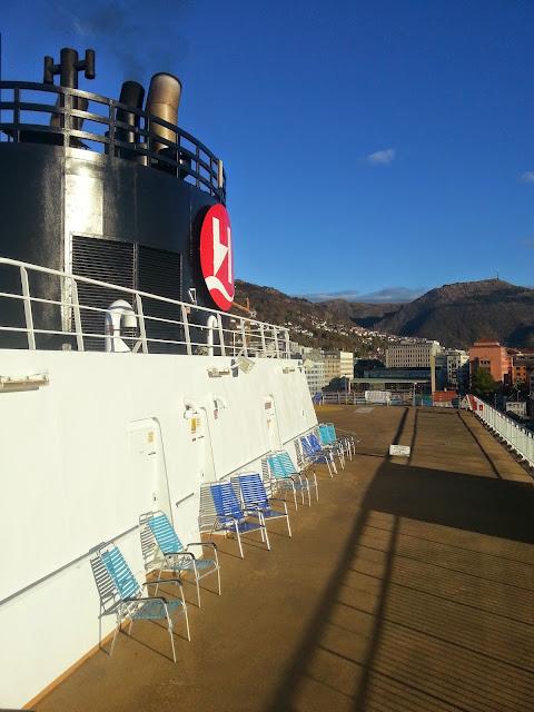 Hurtigruten MS Trollfjord - Sun Deck