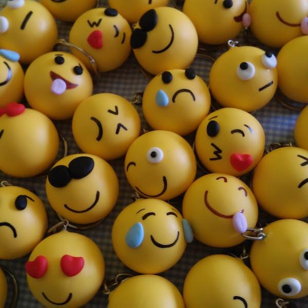 Chaveiros de Emoticons