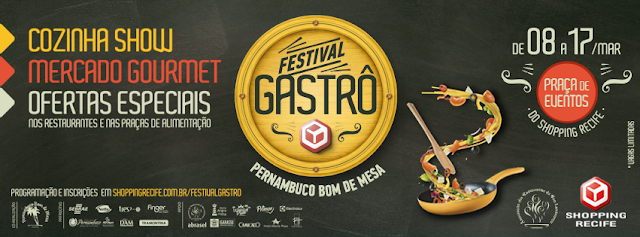 Festival Gastrô do Shopping Recife