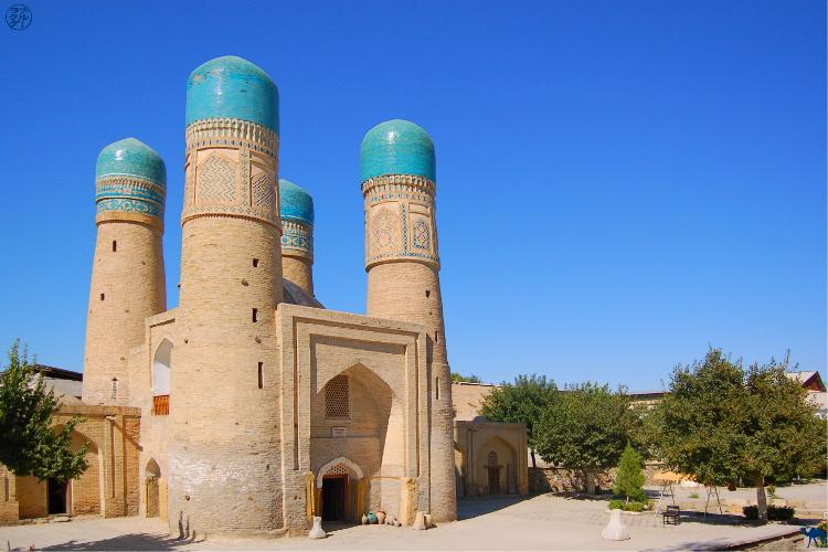Le Chameau Bleu - Blog Voyage Ouzbékistan Asie Centrale - Chor Minor à Boukhara Séjour en Ouzbékistan