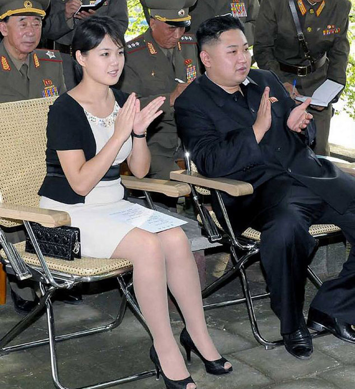 Ri Sol Ju has often accompanied Kim to official events but made her first solo public appearance last weekend at a ballet performance by a visiting Chinese troupe.