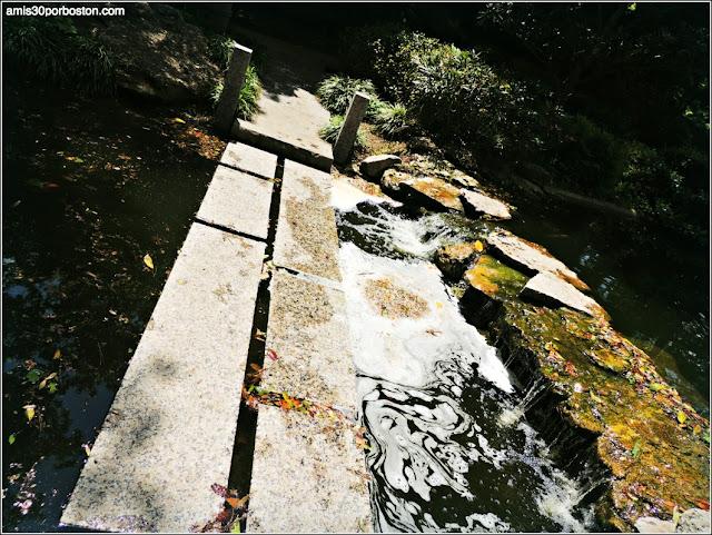 Puentes de Piedra del Jardín Japonés de Fort Worth