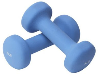 workout weights 3-5 pounds
