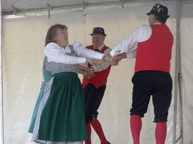 dancers at Haymarket's Oktoberfest in 2012