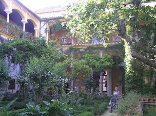 Jardines de la Casa de Pilatos.