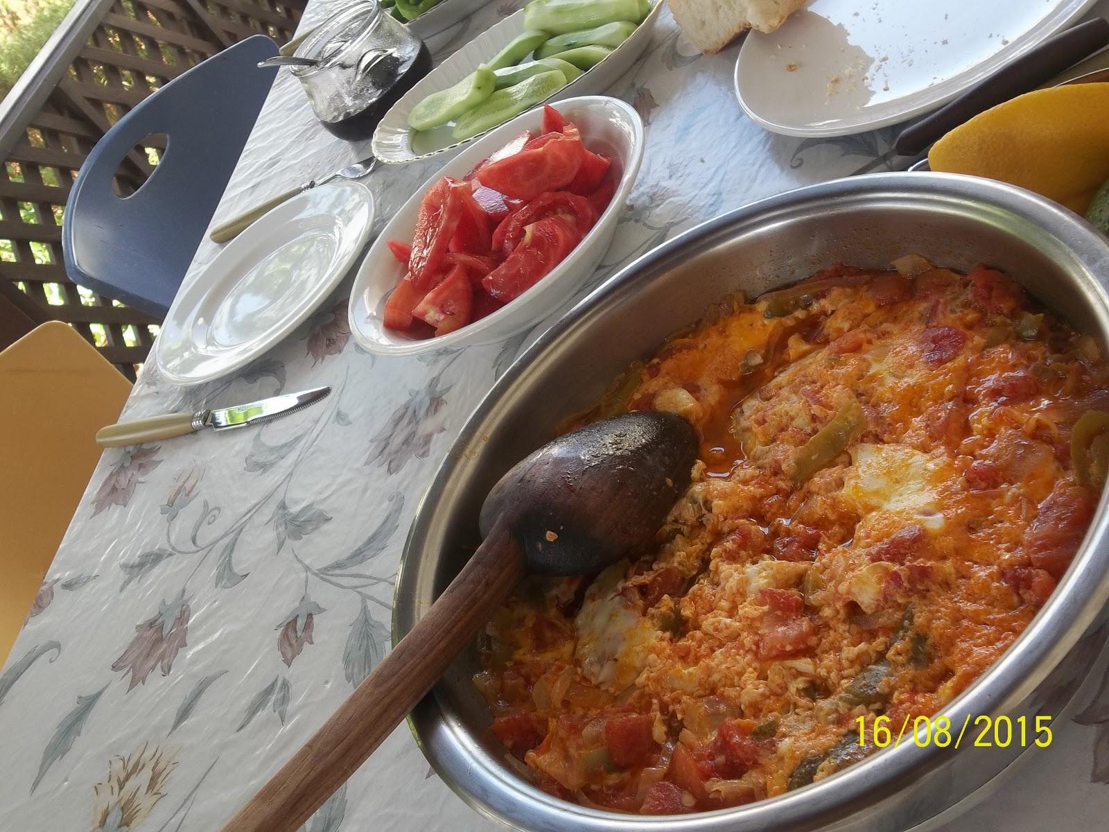 Köy Biberli Peynirli Menemen