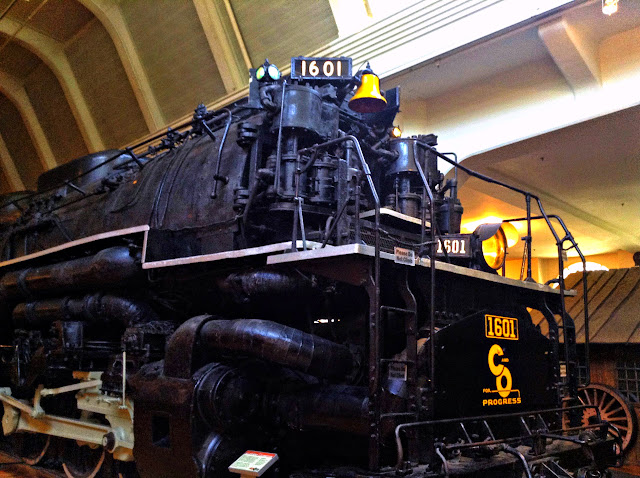 Reason 2 The Trains Close Up at Henry Ford Museum  | iNeedaPlaydate.com @mryjhnsn