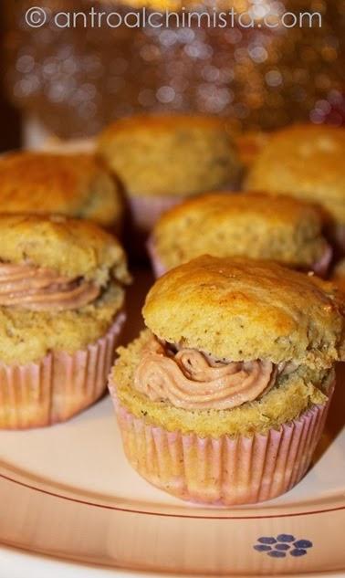 Muffins al Tonno e Pistacchi