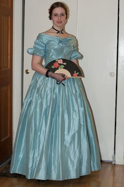 Late 1830s Ball Gown