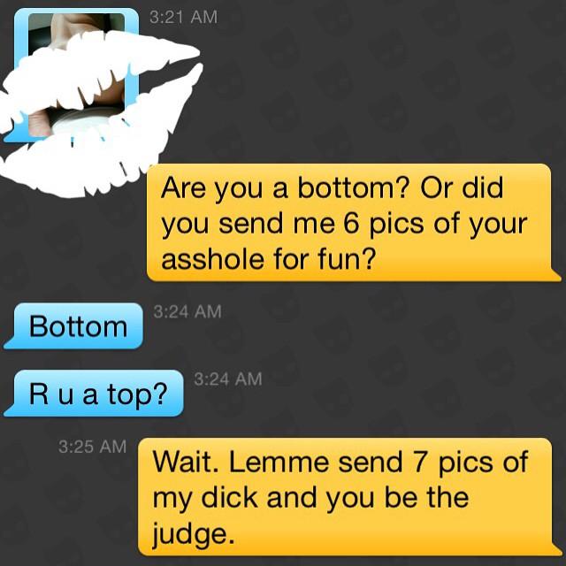 Gay top or bottom