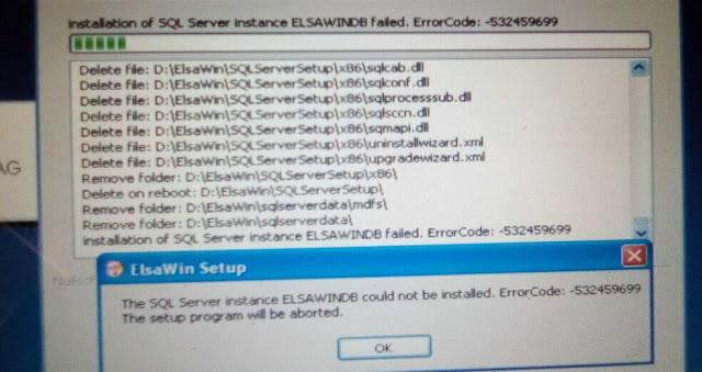 Elsawin Error