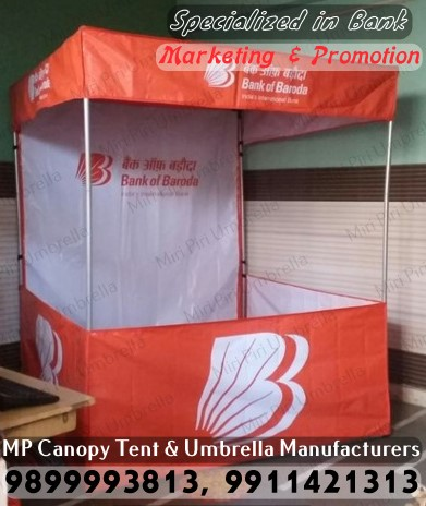 Promotional Tents for Bank Marketing Promotional Tents for Bank Marketing in Delhi Promotional Tents & Canopy Tents Umbrella for Banking Loan Insurance Marketing ...