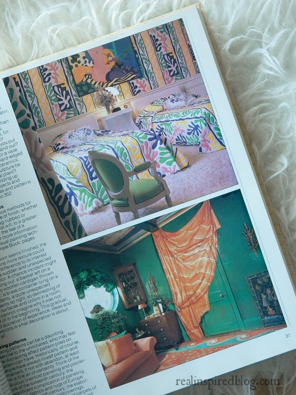 A humorous look back at decorating styles from the 1980's using Mary Gialliatt's, The Decorating Book, as the source material.  A bright Nickelodeon bedroom and a faux orange curtain.