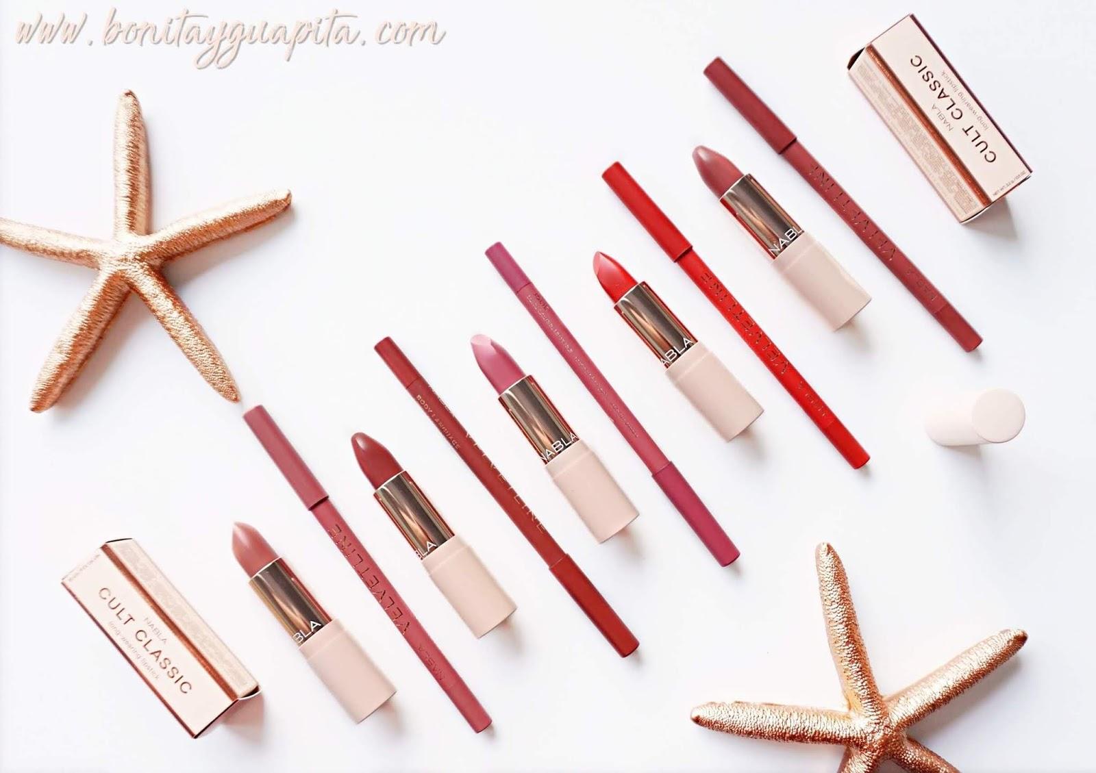 nabla cult classic labiales velvetline lapiz de labios